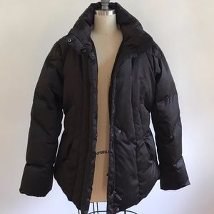 Brown Calvin Klein Puffer Coat